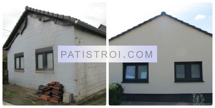Топлоизолация на къща в Белгия - преди и след