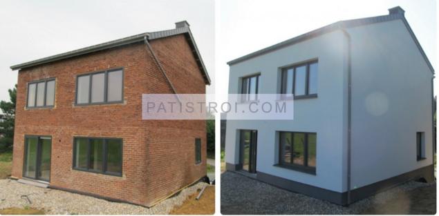 Топлоизолация на къща - преди и след